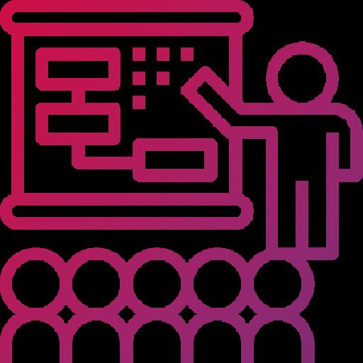Presentasjon ikon